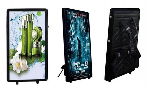LCD Backpack Digital Signage