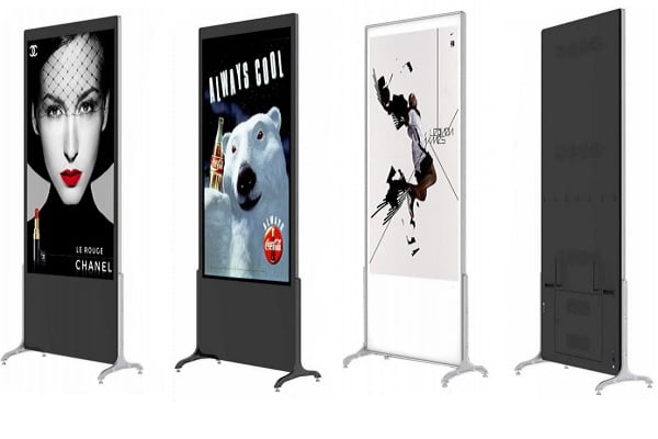 Floor-Standing Digital Signage Kiosk