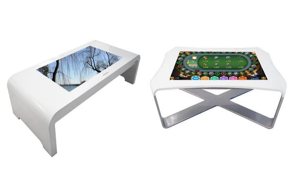 Table-Shape Interactive Touch Display