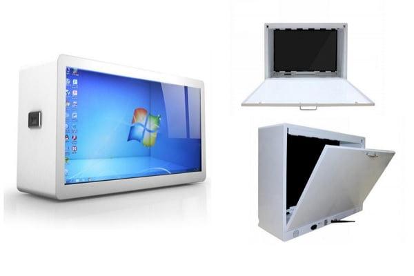 Transparent LCD Display Case