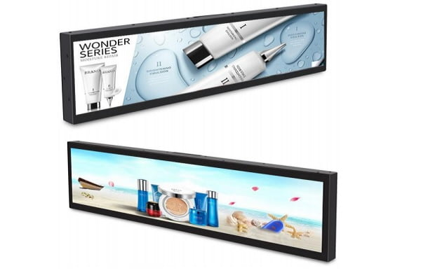 Ultra Wide-Stretched Display